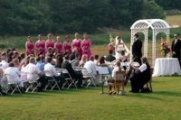 View photos of on-site ceremonies.