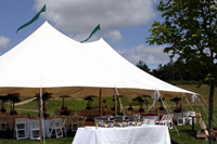 View photos of the function tent.